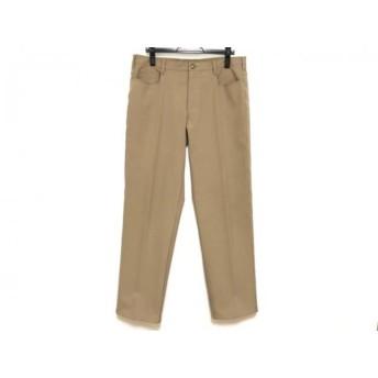 【中古】 プラダ PRADA パンツ サイズ52 L メンズ ベージュ