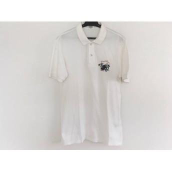【中古】 マンシングウェア Munsingwear 半袖ポロシャツ メンズ 白 Grand Slam1886
