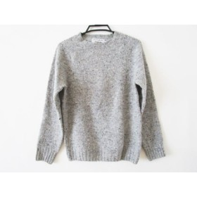 【中古】 インバーアラン Inverallan 長袖セーター サイズ36 S メンズ グレー