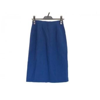 【中古】 ユキトリイ YUKITORII スカート サイズM レディース ブルー DEUX