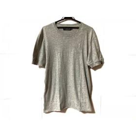 【中古】 ハイドロゲン HYDROGEN 半袖Tシャツ サイズXXL XL メンズ グレー ダメージ加工