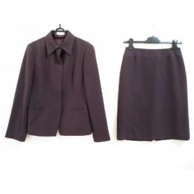 【中古】 ミッシェルクラン MICHELKLEIN スカートスーツ サイズ40 M レディース ボルドー