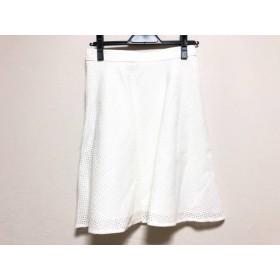 【中古】 ジャスグリッティー JUSGLITTY スカート サイズ2 M レディース 美品 白