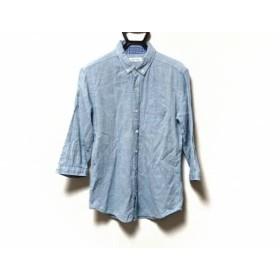 【中古】 ザ ショップ ティーケー THE SHOP TK (MIXPICE) 長袖シャツ サイズL メンズ ライトブルー