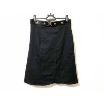 【中古】 ソニアリキエル SONIARYKIEL スカート サイズ38 M レディース 黒