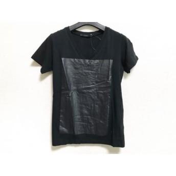 【中古】 エーケーエム AKM 半袖Tシャツ サイズS メンズ 黒