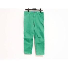 【中古】 ランバンオンブルー LANVIN en Bleu パンツ サイズ38 M レディース グリーン