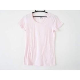 【中古】 スカラー ScoLar 半袖カットソー サイズM レディース 美品 ピンク