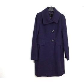 【中古】 アンタイトル UNTITLED コート サイズ2 M レディース 美品 パープル 冬物
