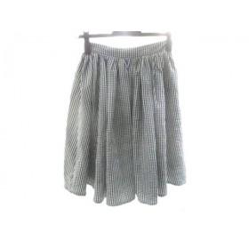 【中古】 ティティアンドコー titty & co スカート サイズS レディース 黒 白