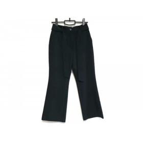 【中古】 プラージュ Plage パンツ サイズ34 S レディース 美品 ダークネイビー