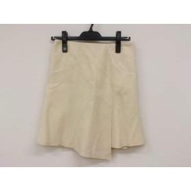 【中古】 ピンキー&ダイアン Pinky & Dianne スカート サイズ36 S レディース アイボリー