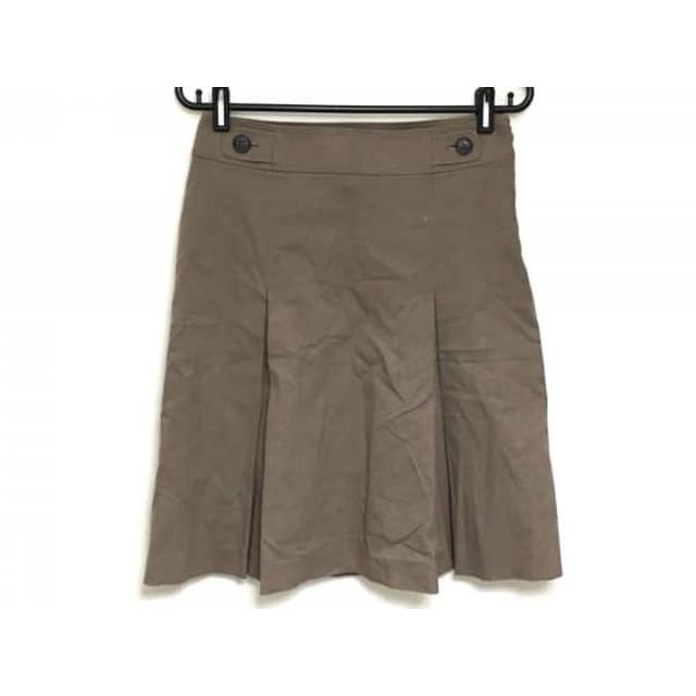 【中古】 バーバリーロンドン Burberry LONDON スカート サイズ38 L レディース ブラウン