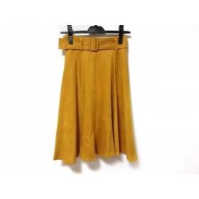 【中古】 アプワイザーリッシェ Apuweiser-riche スカート サイズ0 XS レディース ライトブラウン