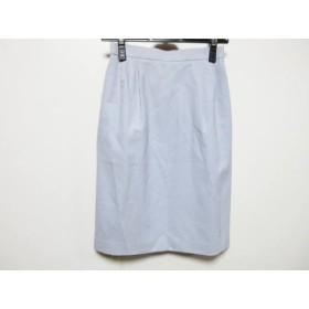 【中古】 ユキトリイ YUKITORII スカート サイズ9 M レディース ライトブルー