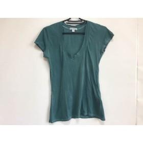 【中古】 ジェームスパース JAMES PERSE 半袖Tシャツ サイズ1 S レディース グリーン