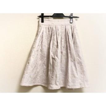 【中古】 リリーブラウン Lily Brown スカート レディース ピンク 花柄