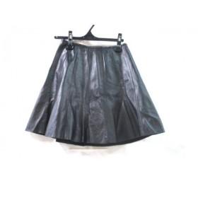 【中古】 ビューティアンドユース ユナイテッドアローズ スカート サイズS レディース ブラック