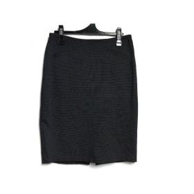 【中古】 アニエスベー agnes b スカート サイズ2 M レディース 黒 アイボリー