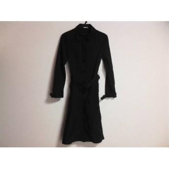 【中古】 ミュウミュウ miumiu コート サイズ40 M レディース 黒 冬物
