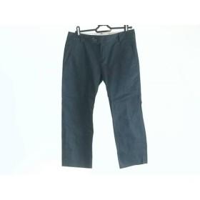 【中古】 グリーンレーベルリラクシング パンツ サイズ38 M レディース ダークネイビー