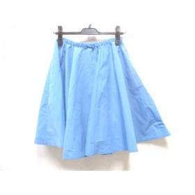 【中古】 ノーブランド スカート サイズ38 M レディース ブルー