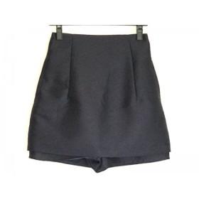 【中古】 ドロシーズ DRWCYS ハーフパンツ サイズ1 S レディース 美品 ネイビー スカート付き