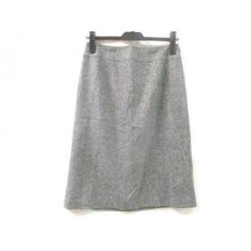 【中古】 ノーリーズ NOLLEY'S スカート サイズ38 M レディース グレー