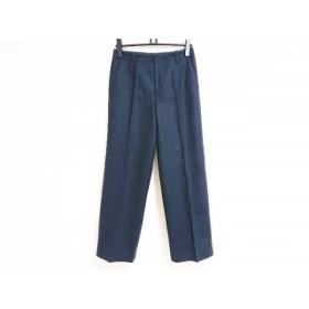 【中古】 エストネーション ESTNATION パンツ サイズ38 M レディース ネイビー