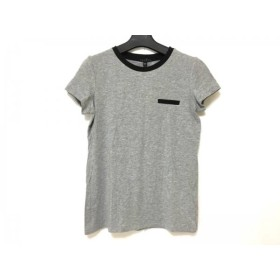 【中古】 セオリー theory 半袖Tシャツ サイズS レディース グレー 黒