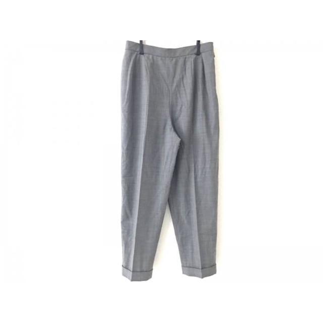 【中古】 レリアン Leilian パンツ サイズ13 L レディース グレー