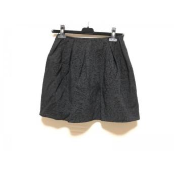 【中古】 フレイアイディー FRAY I.D スカート サイズ0 XS レディース 美品 黒