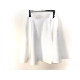 【中古】 ジャスグリッティー JUSGLITTY ミニスカート サイズ0 XS レディース 白