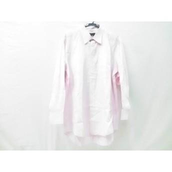 【中古】 ダンヒル dunhill/ALFREDDUNHILL 長袖シャツ サイズ17 メンズ ピンク