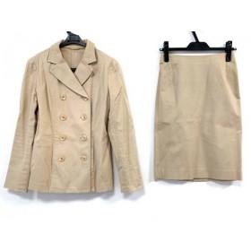 【中古】 アナイ ANAYI スカートスーツ サイズ36 S レディース ベージュ