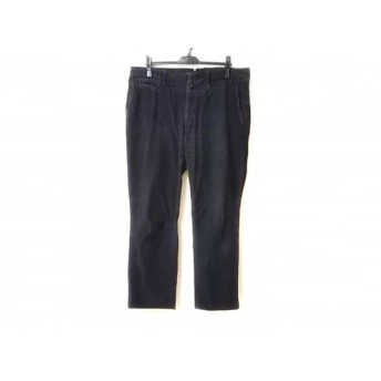 【中古】 インコテックス INCOTEX パンツ サイズ38 M メンズ 黒