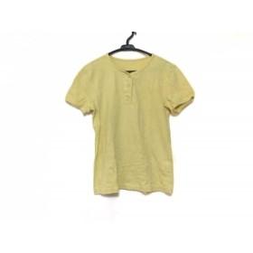 【中古】 マドモアゼルノンノン Mademoiselle NON NON 半袖Tシャツ サイズ40 M レディース イエロー