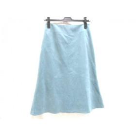 【中古】 ノーリーズ NOLLEY'S スカート サイズ38 M レディース ブルー
