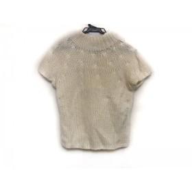 【中古】 エポカ EPOCA 半袖セーター サイズ40 M レディース アイボリー