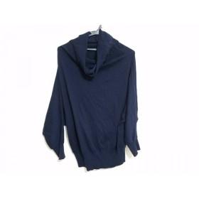 【中古】 マッキントッシュフィロソフィー 長袖セーター サイズ38 L レディース ダークネイビー
