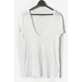 【中古】 ジェームスパース JAMES PERSE 半袖Tシャツ サイズ2 S レディース 白