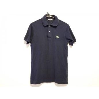 【中古】 ラコステ Lacoste 半袖ポロシャツ サイズ3 L メンズ ダークネイビー