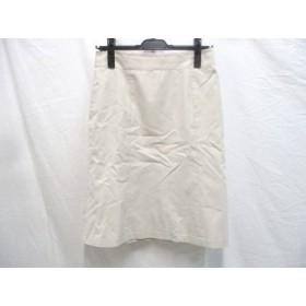 【中古】 アンタイトル UNTITLED スカート サイズ2 M レディース ベージュ