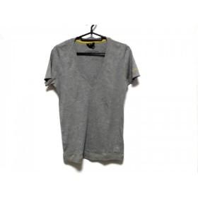 【中古】 ジースターロゥ G-STAR RAW 半袖Tシャツ サイズM レディース グレー
