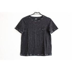【中古】 ケイトスペードサタデー KATE SPADE SATURDAY 半袖Tシャツ サイズS レディース 黒 白