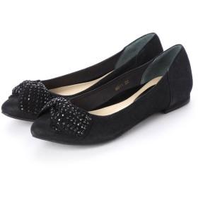 シューズラウンジ shoes lounge 【本革】パンプス 31B9114BM (ブラック)