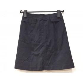 【中古】 トゥモローランド TOMORROWLAND ミニスカート サイズ36 S レディース 黒 collection