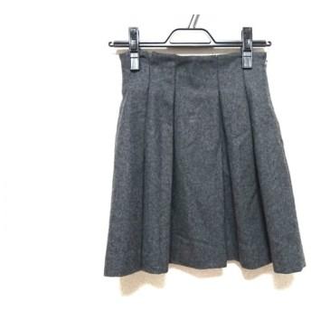 【中古】 トランテアンソンドゥモード 31Sonsdemode スカート サイズ36 S レディース ダークグレー