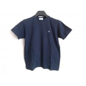 【中古】 ラコステ Lacoste 半袖Tシャツ サイズ38 M レディース ダークネイビー