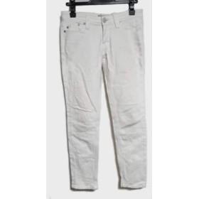 【中古】 ヤヌーク YANUK パンツ サイズ26 S レディース 白